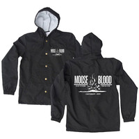 Moose Blood Men's  Campfire Windbreaker Black