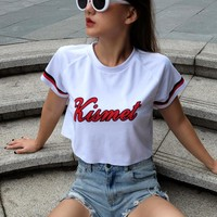 2018 Women'S Printed Short-Sleeved T-Shirt