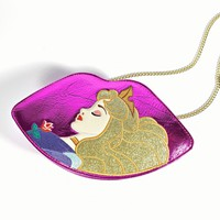 Danielle Nicole Fuchsia Lips Sleeping Beauty Crossbody