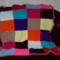 Blocks Of Color  Afghan by amydscrochet on Etsy
