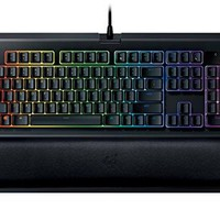 Razer BlackWidow Chroma V2 - RGB Mechanical Gaming Keyboard - Ergonomic Wrist Rest - Linear & Silent Razer Yellow Switches