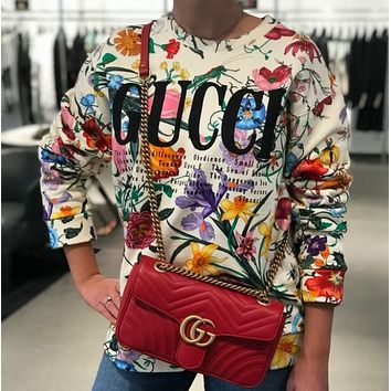 GUCCI Fashion Casual Long Sleeve Sweater Pullover
