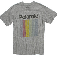 Polaroid Prism Faded Graphic Gray Tee by Altru Apparel