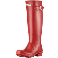 HUNTER ORIGINAL TALL MILITARY RED WELLINGTON BOOTS  Welly Red NWT BN