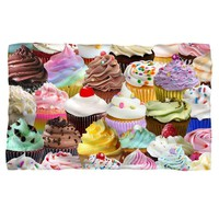 Cupcakes Fleece Blanket