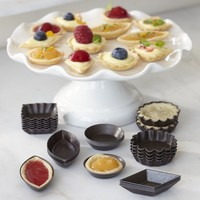 Nonstick Petits Fours Molds, Set of 30