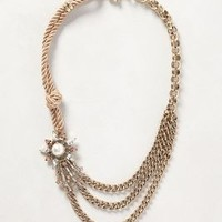 Comet Blaze Necklace by Anthropologie Gold One Size Necklaces