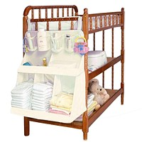 Baby Bed Bedding Set Accessories Waterproof Diapers Bedside Organizer Baby Crib Children's Bed Hanging Bag Portable Storage Bag