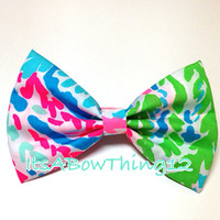 Lilly Pulitzer Lets Cha Cha Bow