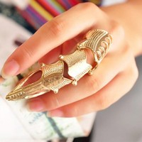 Rock Fashion Punk Long Joint Knuckle Finger Ring