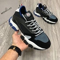 Moncler Woman's Men's 2020 New Fashion Casual Shoes Sneaker Sport   Running Shoes