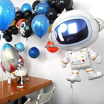 Outer Space / Astronaut Foil Balloons