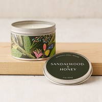 Artist Print Tin Candle | Urban Outfitters