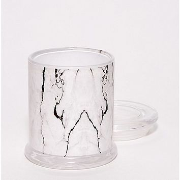 Marble Storage Jar and Ashtray - 14 oz. - Spencer's