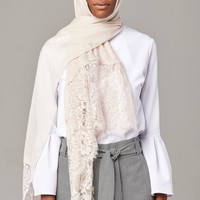 ECRU Premium Lace Edge - CULTURE Hijab Co.