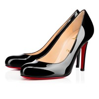 Christian Louboutin Cl Simple Pump Black Patent Leather Pumps 3080377bk01 - Best Online Sale