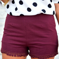 As You Were Shorts: Mahogany