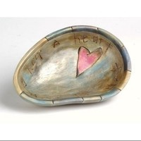 "Decorative Religious Wooden Bowl ""Keep A Heart Full Of Love"" - Walmart.com"