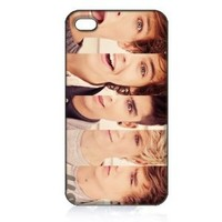 One Direction Hard Case Cover Skin for Iphone 4 4s Iphone4 At&t Sprint Verizon Retail Packing