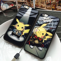 Apple Cartoons Phone Case Lovely Soft Silicone Phone Case [9078300676]