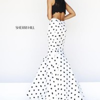 2014 Sherri Hill Polka Dot Homecoming Dress 21260