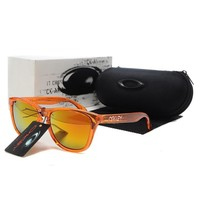 READY STOCK Oakley Original Unisex Sunglasses Frogskins Orange Eyewear oak