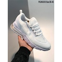 Nike Air Max 270 React cheap Men's and women's nike shoes
