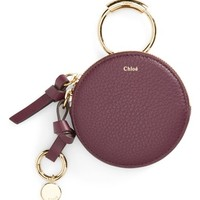 Chloé Key Ring & Leather Pouch | Nordstrom