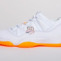 Air Jordan Retro XI 11 Low 'Citrus' Boys GS DCCK