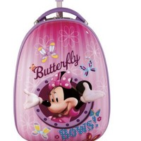 Disney By Heys Luggage Disney 18 Inch Hard Side Carry On Minnie Mouse Butterfly Bows Bag