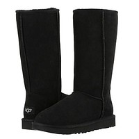 "x1love :""UGG"" Women Fashion Wool Snow Boots simple high boots"
