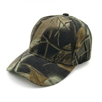 Trendy Winter Jacket Casquette Camouflage Hats For Men Women Cotton Camo Baseball Cap Outdoor Climbing Hunting Camo Hats Army Camo Snapback AT_92_12