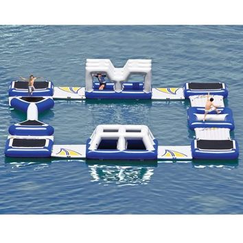 The Floating Obstacle Course.