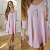 My One And Only Dress (Pink) - Piace Boutique