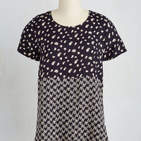 Mid-length Short Sleeves Two Do You Think You Are? Top