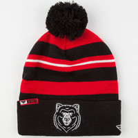Fatal Cali Bear Beanie Black/Red One Size For Men 24655712601