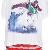Buzz Lightyear Tee and Shorts PJ Set - New In This Week - New In - Topshop