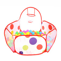 Children Kid Ocean Ball Pit Pool Game Play Tent In Outdoor Kids Hut Pool Play Tent Children's Tent House Indoor Game Baby Toys