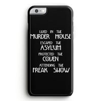 American Horror Story Cover iPhone 6 Plus Case | Aneend