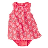 Just One You™Made by Carter's® Girls' Sleeveless Bodysuit Dress - Red/White