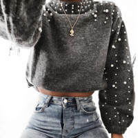 Candy Pearl Sweater