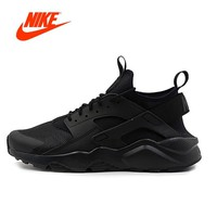 Original NIKE New Arrival AIR HUARACHE RUN ULTRA Men's Breathable Running Shoes Sneakers classic Tennis shoes outdoor