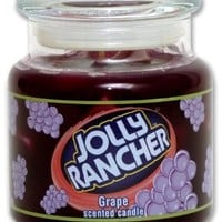 Jolly Rancher by Hanna's Candle 16.75-Ounce Jolly Rancher Grape Jar Candle:Amazon:Home & Kitchen