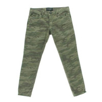 Sanctuary Clothing Womens Denim Camouflage Ankle Jeans