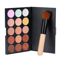 ABODY 15 Color Concealer Cream with Makeup Brush