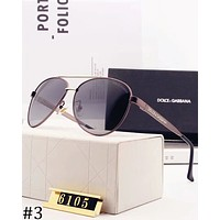 Dolce & Gabbana 2018 new men and women polarized high-end driver driving sunglasses #3