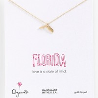 Dogeared 'State of Mind - Florida' Pendant Necklace