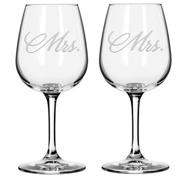 Mr and Mrs, Mr and Mr, Mrs and Mrs wine glass set, Bride and Groom Glasses