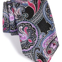 Men's J.Z. Richards Paisley Print Silk Tie