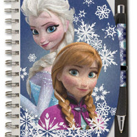 """National Design Disney Frozen Metallic Deluxe Autograph Book and Pen (5"""" X 7"""")"""